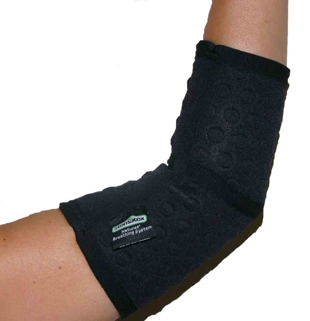 ELBOW SUPPORT - BREATHABLE - £15.95 - Sizes available S, M, L & XL - (Fits Left / Right Elbow)